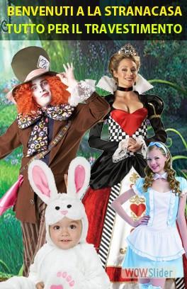 La Stranacasa Costumi di Carnevale Halloween Center 2d004d1527ac