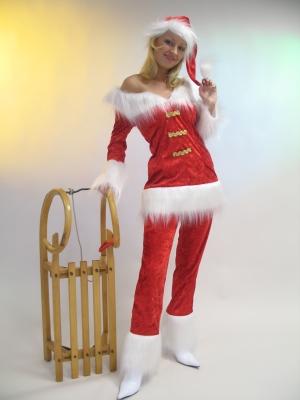 Ma un costume da Babbo Natale non sarebbe completo senza un costume da  Mamma Natale che si rispetti. 8ae7bf0c56e